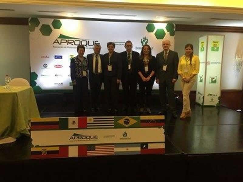 Representantes de países miembros de la Red Responsible Care Latinoamerica: Colombia, Ecuador, Venezuela, Argentina, Peru, Uruguay y Chile.
