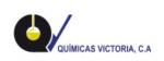 QUÍMICAS VICTORIA, C.A.
